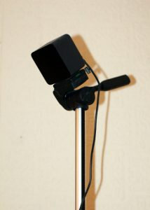 Camera Tripod With Vive Basestation