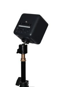 "Vive Basestation on a 3/8"" Mini Ball Head"