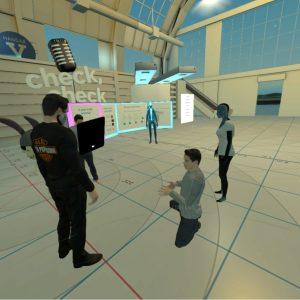 High Fidelity VR Greeter
