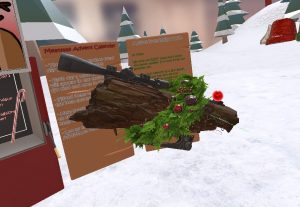 H3VR Tactical Melee Yule Log